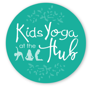 Kids Yoga at the Hub Logo